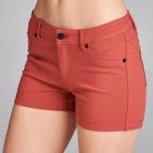 Cute Coral Shorts